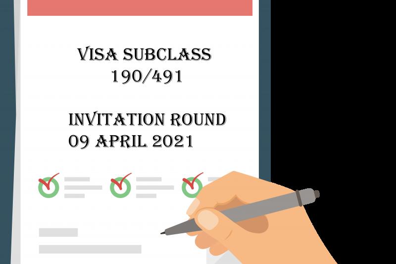Canberra matrix Invitation Points Visa 491 190